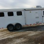 2007 Kiefer Built 3 horse Living Quarters Trailer